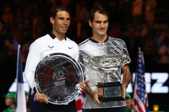 Dimitrov asegura que esta foto podría haber sido muy distinta si hubiera derrotado a Nadal en semifinales de Australia. (C) Clive Brunskill/Getty Images