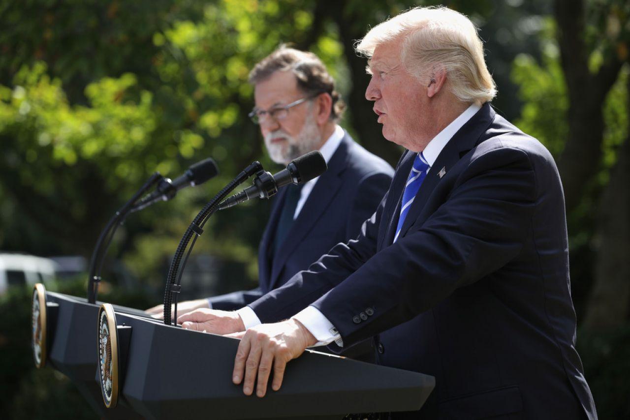Donald Trump, confeso admirador de Rafa Nadal