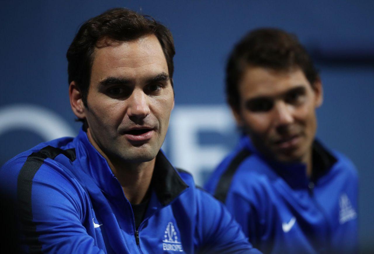 Federer: Rafa cuenta enormemente en mi carrera