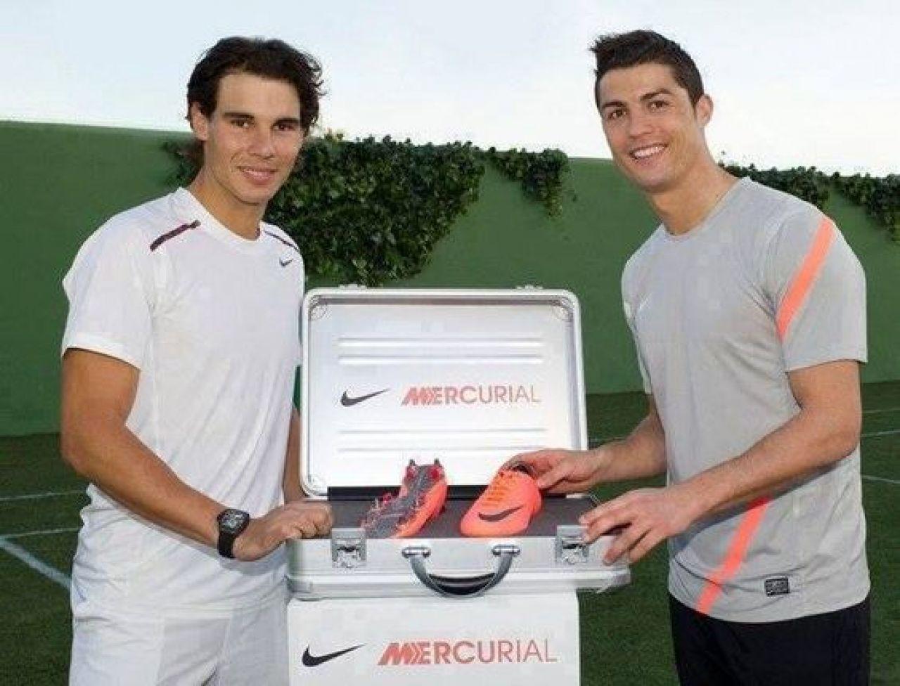 Florentino: Cristiano tiene mucho mérito, su obsesión por mejorar... me recuerda a Rafa Nadal