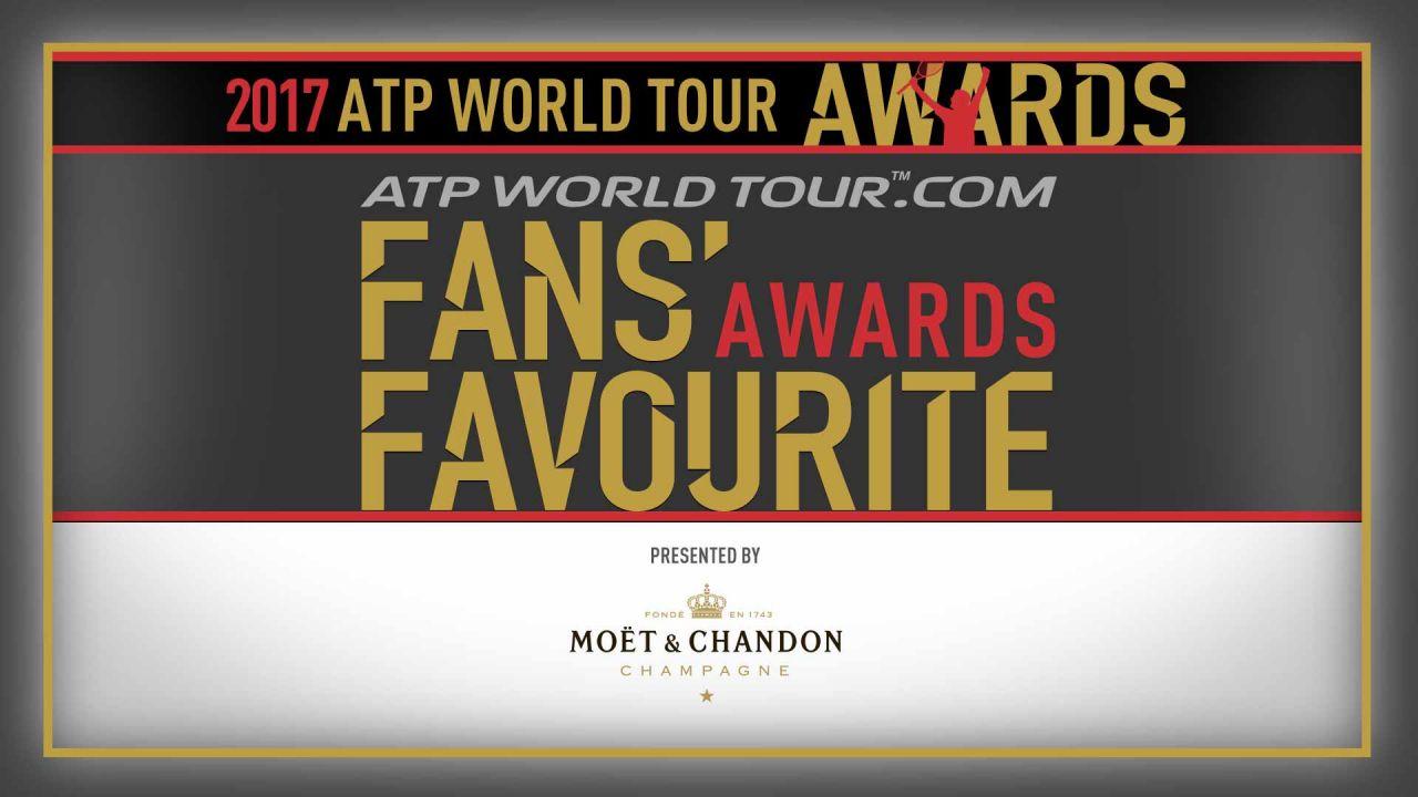 Vota por Rafa Nadal en los Premios ATP World Tour by Moët & Chandon 2017