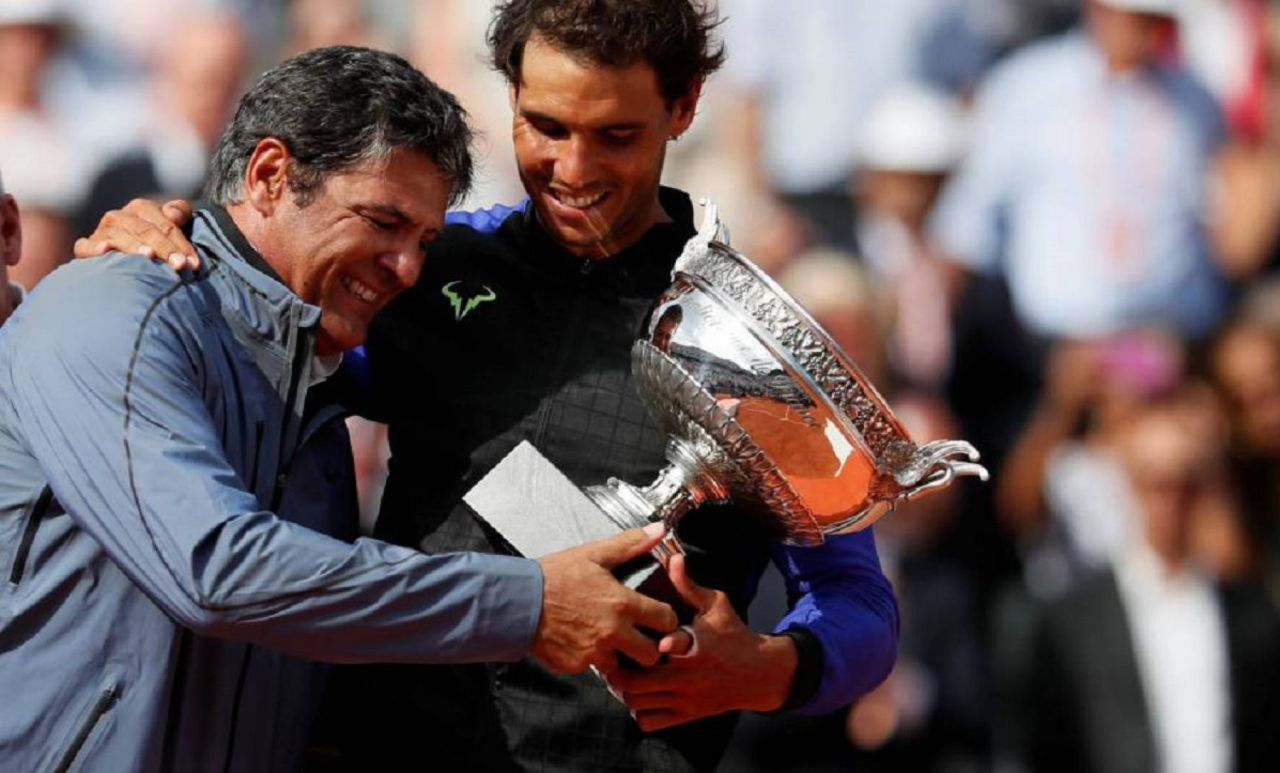Toni Nadal: Debo agradecer enormemente al máximo responsable de mi suerte, mi sobrino Rafael