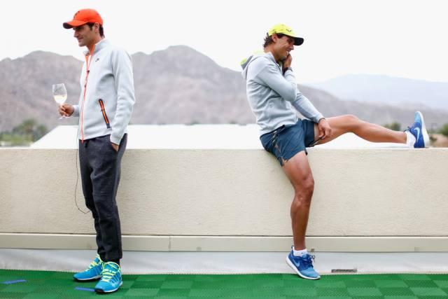 Llega el 14º aniversario del primer Nadal-Federer