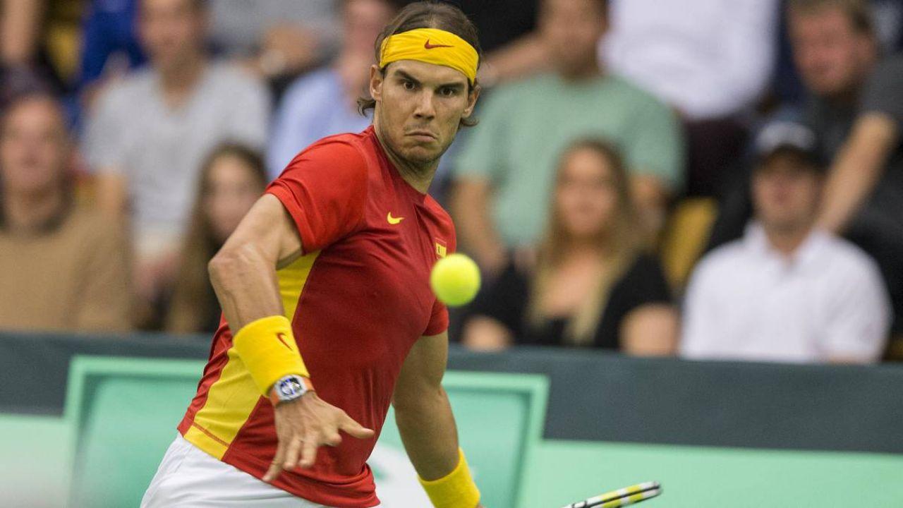 Los impresionantes números de Nadal en Copa Davis: 22 victorias seguidas por una derrota