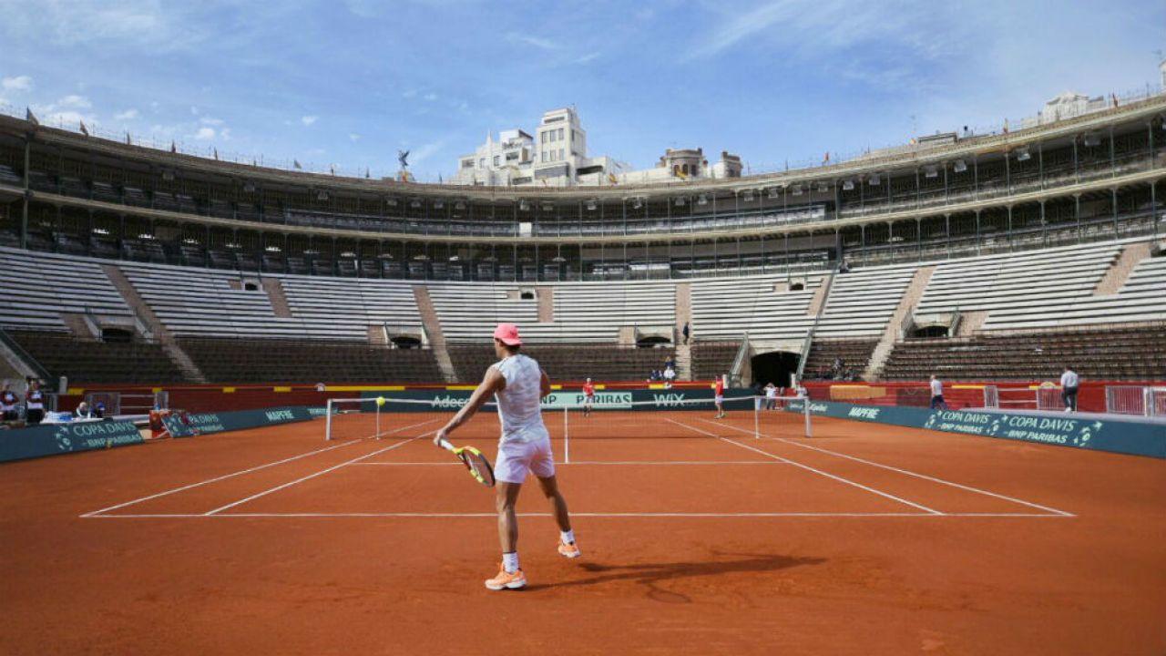 Nadal ya entrena en Valencia, Copa Davis, como número 1 del mundo