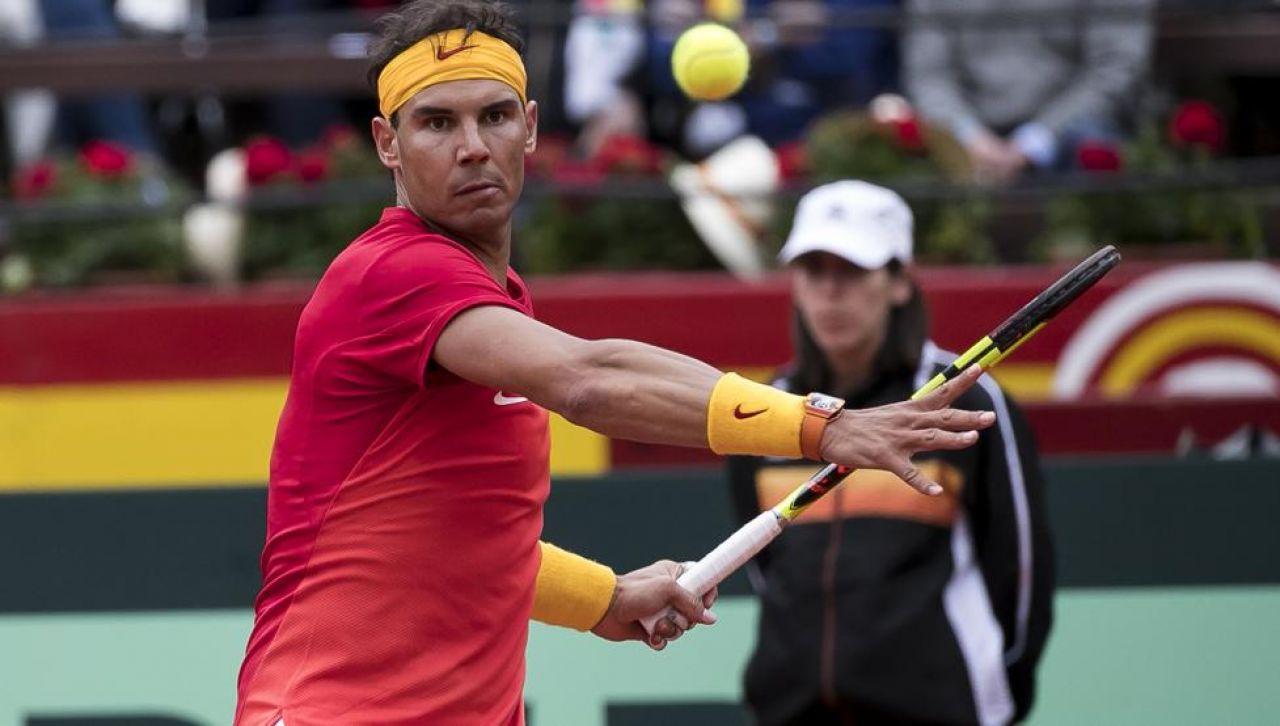 Nadal: Zverev es uno de los mejores pero estoy jugando en casa