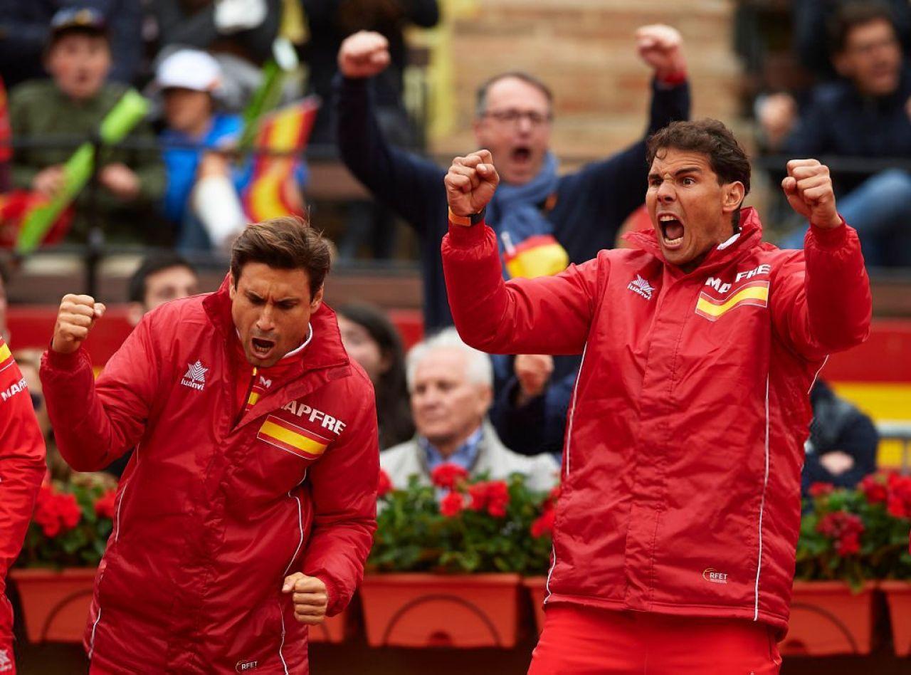 Sergi Bruguera,  plena confianza en Nadal y Ferrer para resolver la eliminatoria