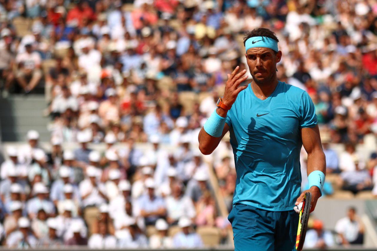 Nadal firma su victoria más contundente para una segunda ronda de Roland Garros