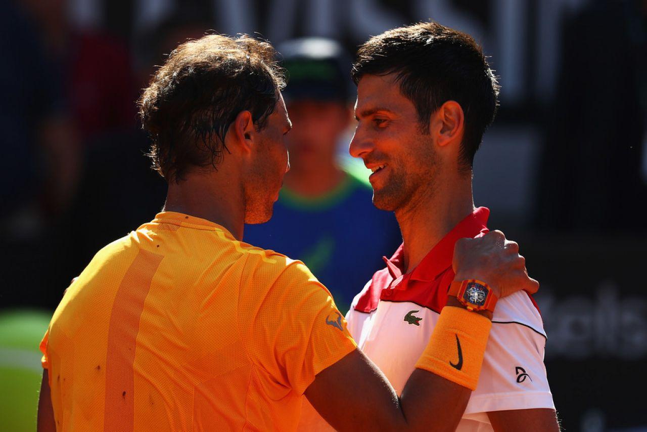 Rafa Nadal: Veo a Djokovic preparado para Roland Garros