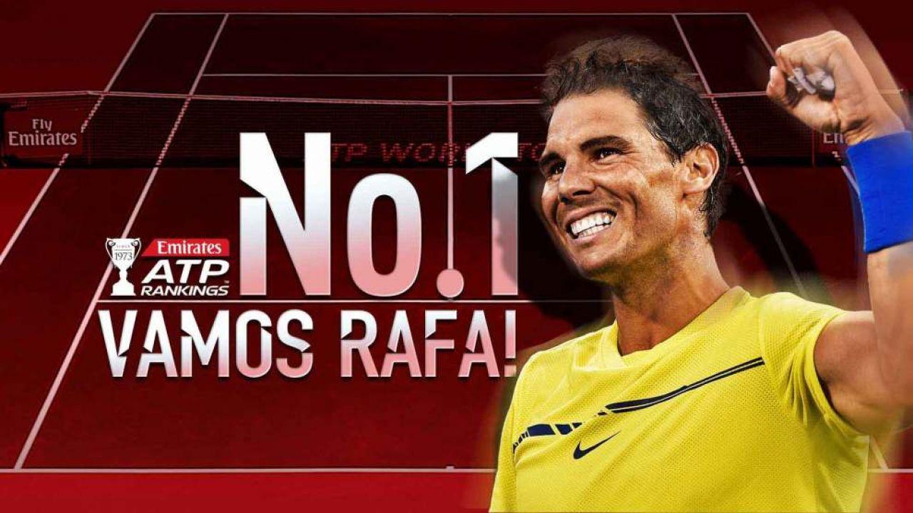 El cachondeo de ver a Nadal y Federer intercambiándose el número uno casi cada mes