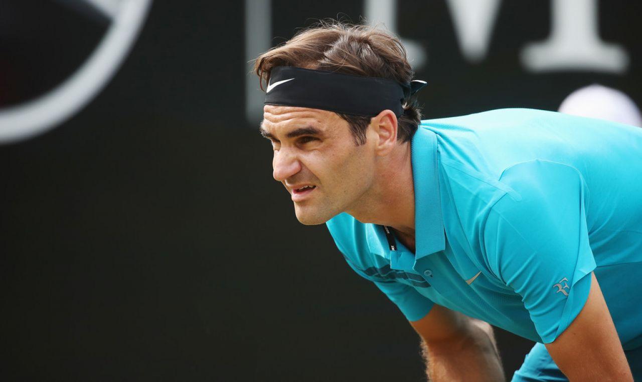 Federer, problema muy serio de vitalidad a pocos días de Wimbledon