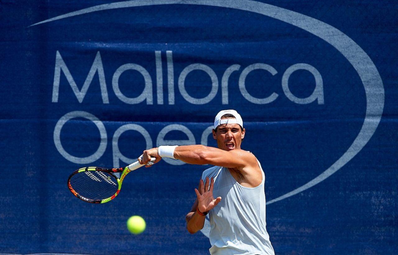 Nadal viajará a Wimbledon el domingo y jugará algunas exhibiciones