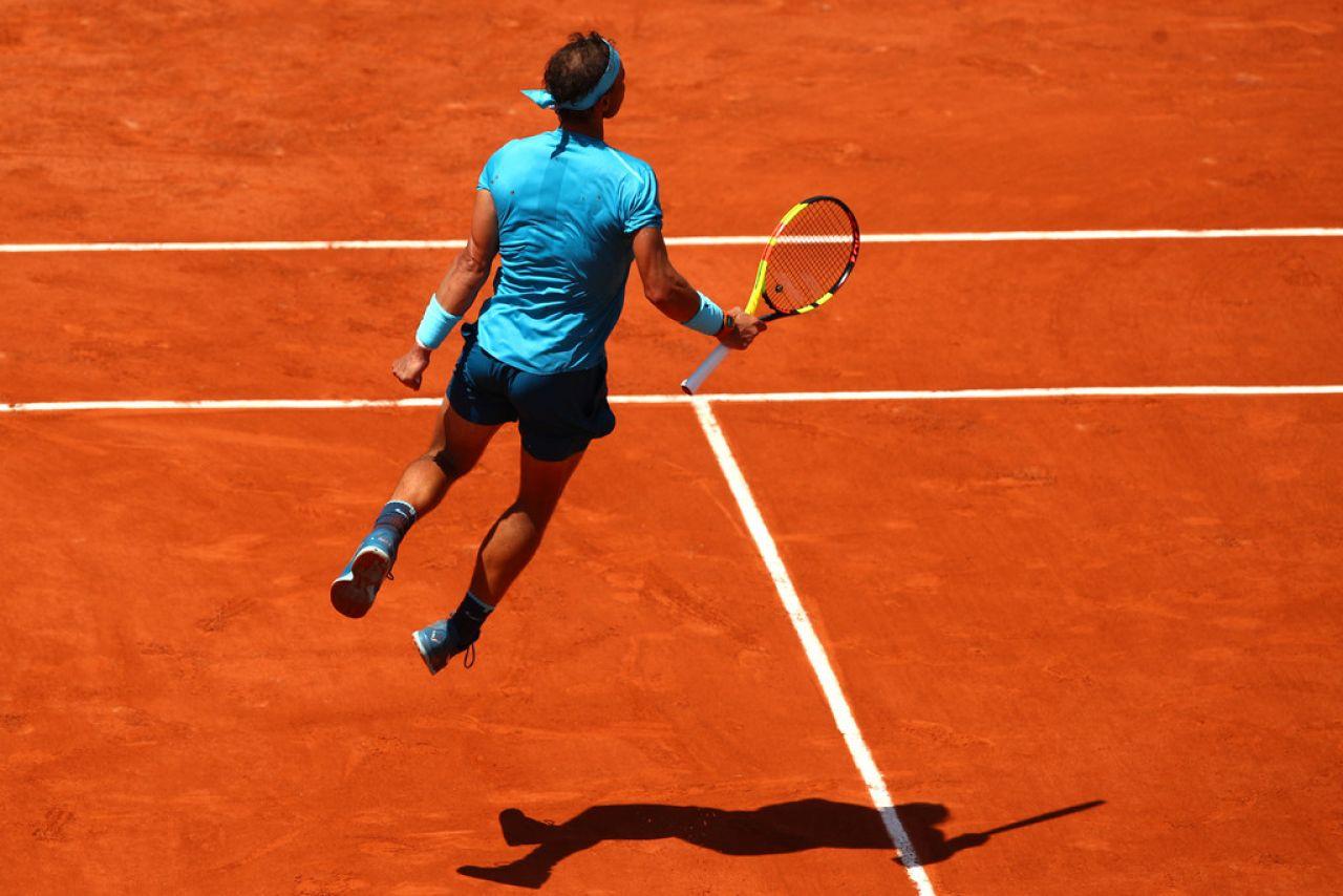 Nadal volvió en modo campeón y Schrwartzman ya no pudo frenarle
