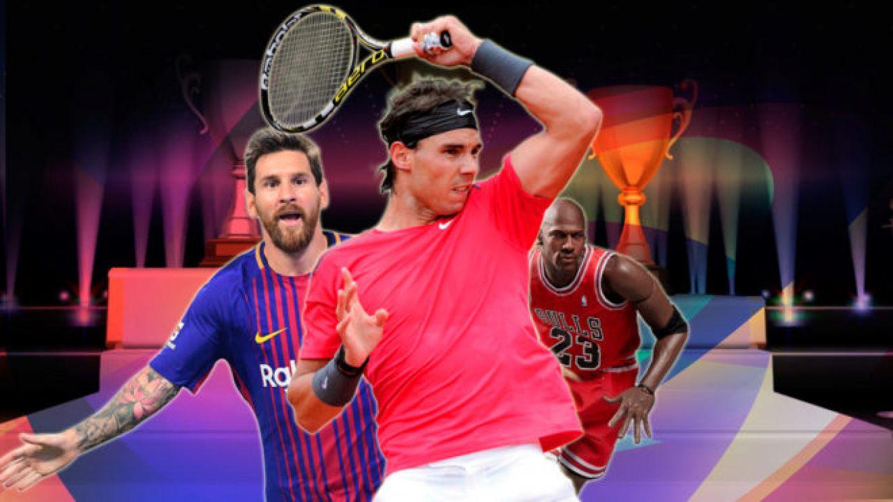 Rafa Nadal, elegido el mejor deportista de todos los tiempos por los aficionados