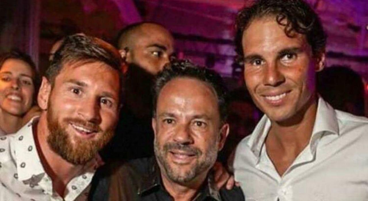 Nadal y Messi juntos en Ibiza