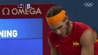 Thumbnail Video: Nadal ganó su primera medalla de oro olímpica en Pekín, hace ahora 10 años