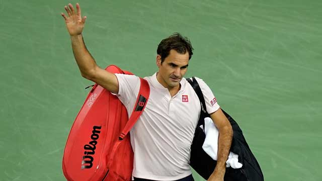 Roger Federer se despide del Masters 1000 Shanghai 2018 tras perder contra Borna Coric