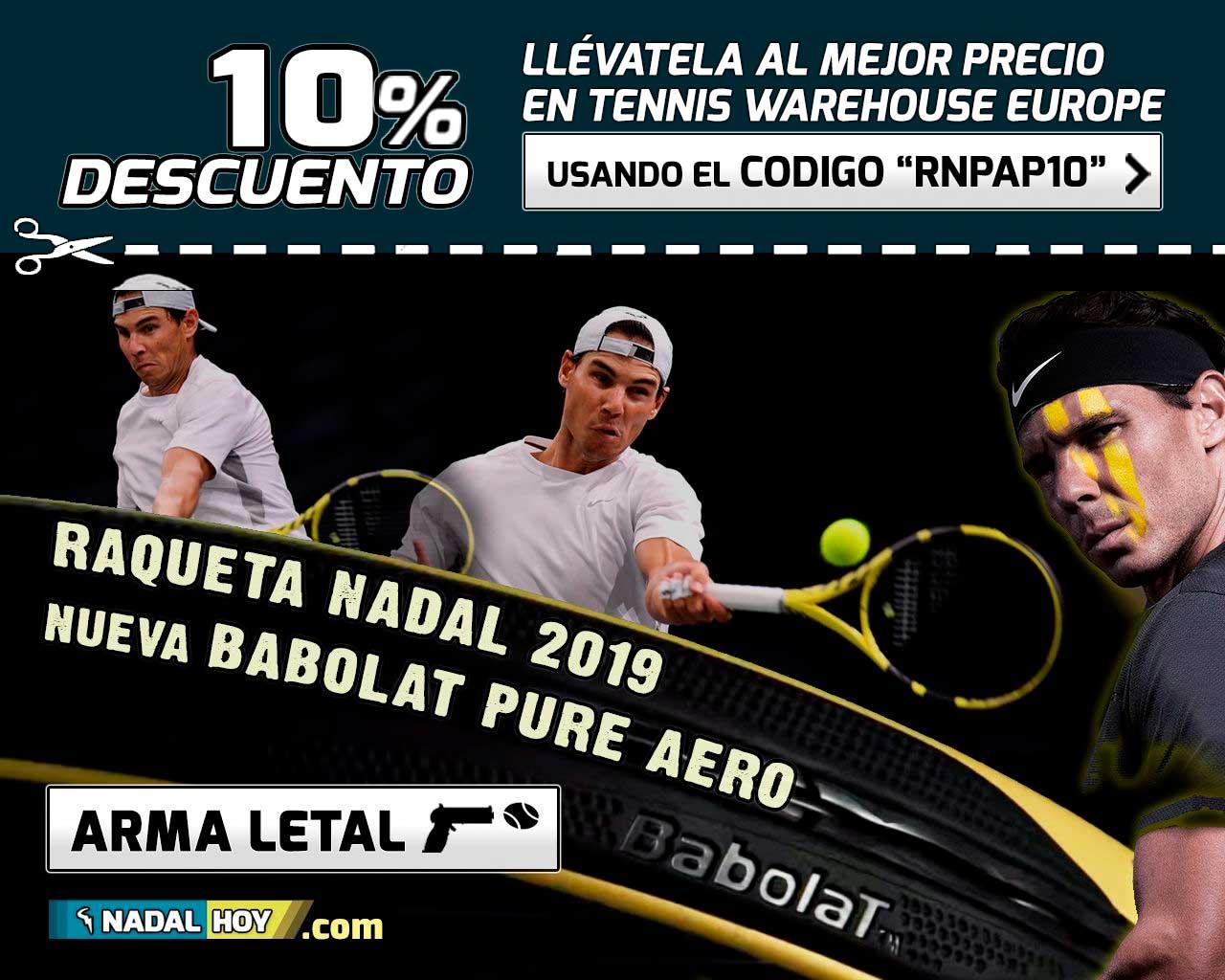 Babolat Pure Aero 2019, nueva raqueta, arma letal para Nadal