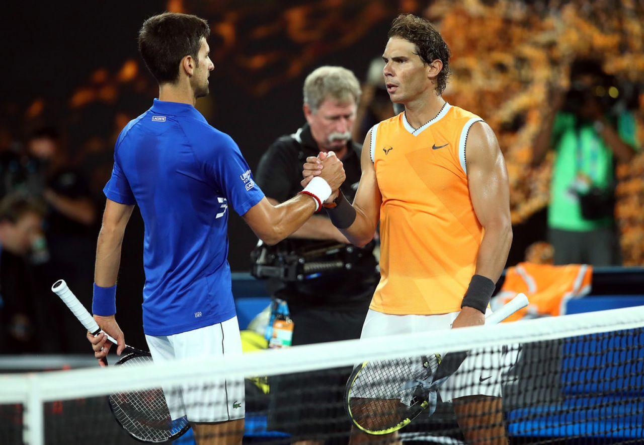 Djokovic: Antes de la final contra Rafa hice mis deberes viéndome nuestros partidos