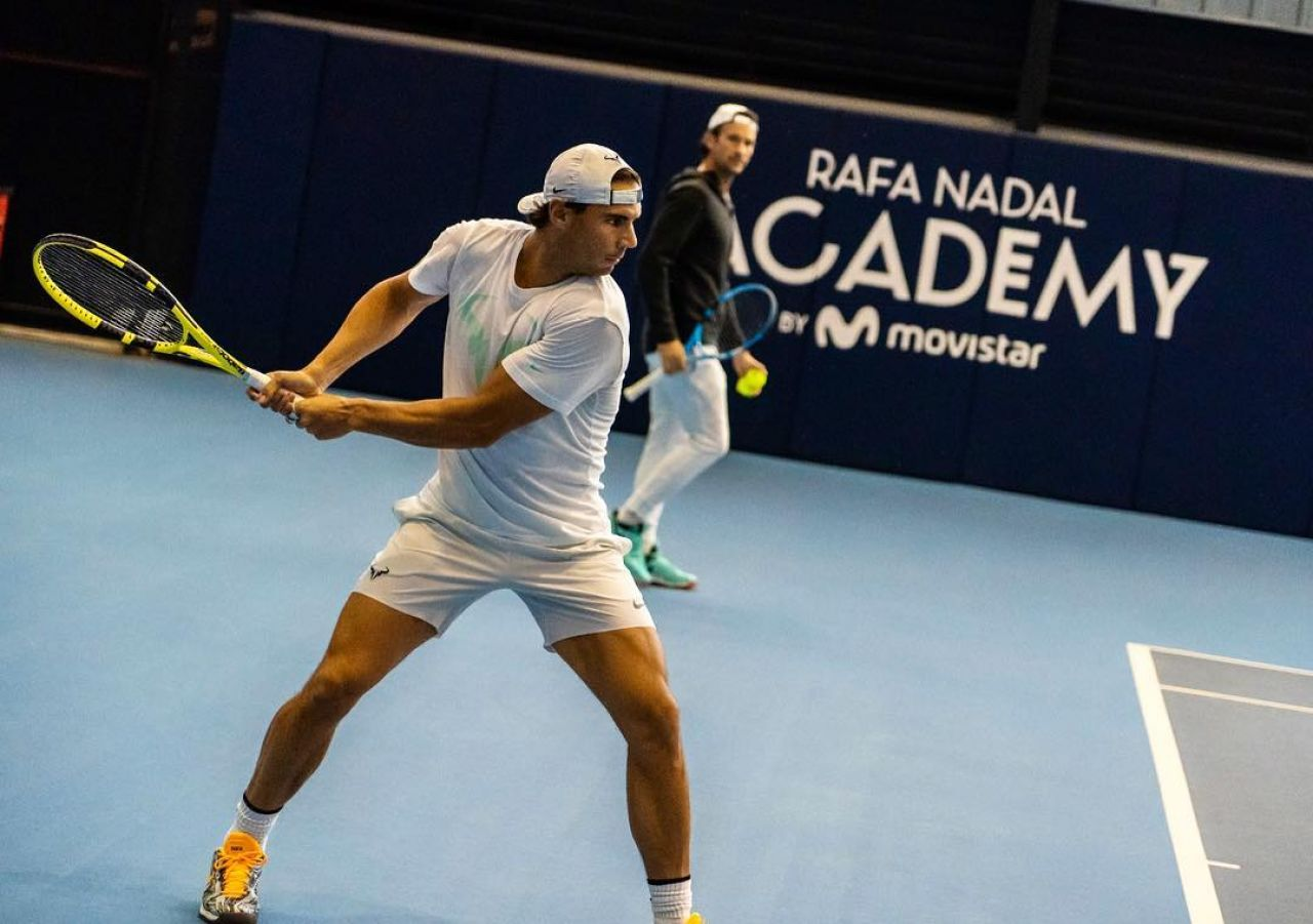 Nadal ya prepara su próximo torneo,  el ATP Acapulco que inicia el 25 de febrero