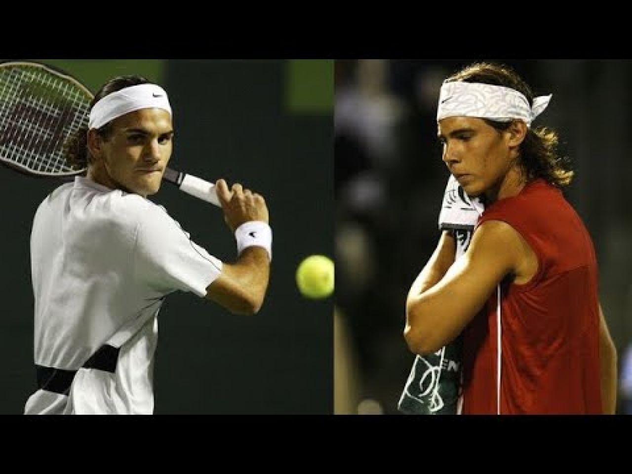 VIDEO: La primera vez que Nadal asombró al mundo doblegando a Federer