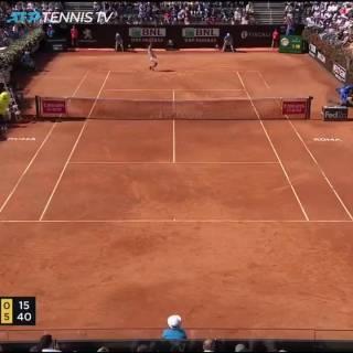 Así cerró Nadal ante Verdasco su pase a la semifinal en Roma