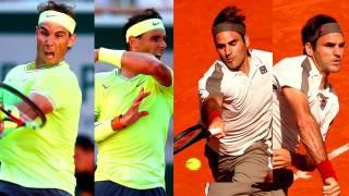 Revive los puntazos de la rivalidad Nadal - Federer en pistas de tierra