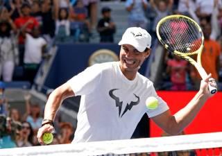 Declaraciones de Nadal y Federer en el Kids Days del US Open