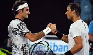 El emotivo saludo de Nadal y Federer en un entrenamiento del US Open