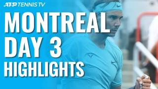 Highlights Nadal vs Evans, Montreal 2019 Ronda 1