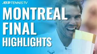 Nadal vs Medvedev, resumen y resultado de la final en Montreal