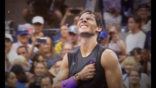 Este es el vídeo de sus 19 Grand Slam con el que lloró Nadal