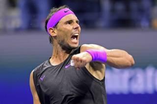 Rafa Nadal: Estoy muy feliz, he hecho semifinales en los 4 Grand Slam