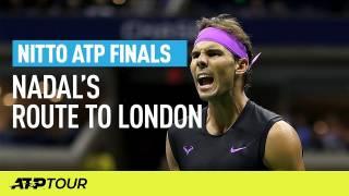 Así hizo Nadal para ser primer clasificado para la Copa Masters