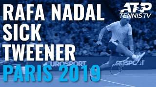 El golpe más viral de Nadal, el Tweener en el Masters 1000 de París