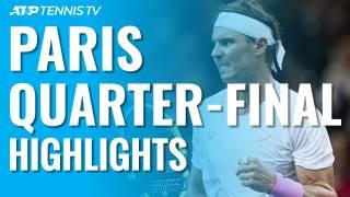 Nadal - Tsonga, resumen y resultado en el Masters 1000 de París