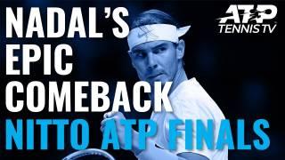 Los mejores momentos de la épica remontada de Nadal a Medvedev en la Copa Masters