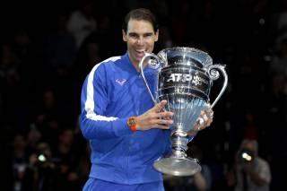 Rafa Nadal recibe el trofeo de Nro. 1: Ojalá pudiera jugar con Roger