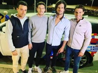 Nadal y el equipo español ya están en Australia para la ATP Cup