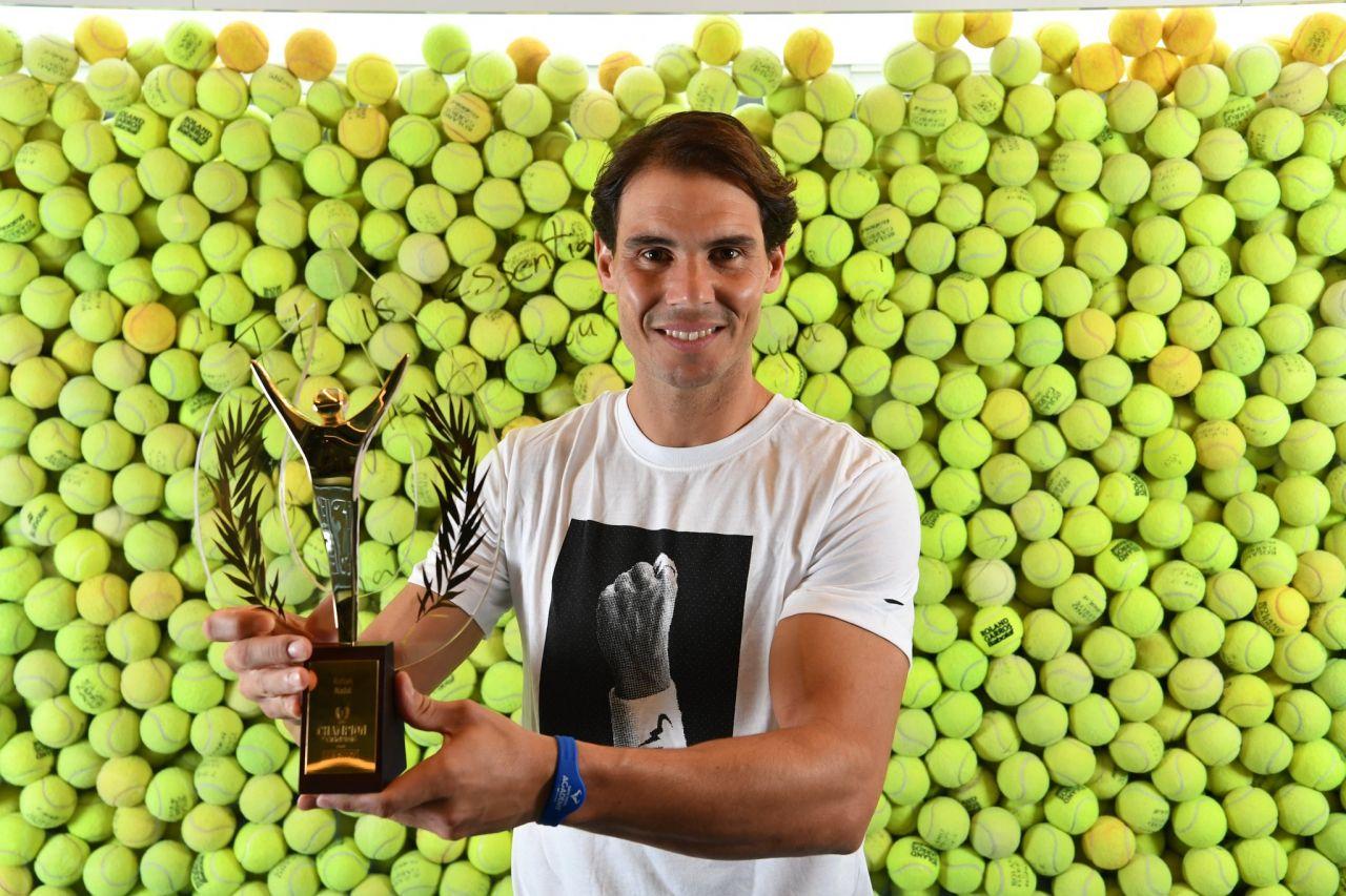 Rafa Nadal, Premio a Mejor Deportista mundial del 2019 por LEquipe