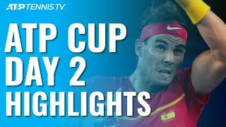 Highlights Nadal vs Basilashvili, España vs Georgia, ATP CUP 2020