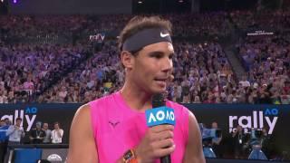 Nadal y Federer donarán 250.000 dólares para la lucha contra los incencios de Australia