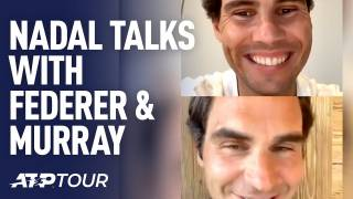 ¿Qué se dijeron Nadal y Federer en la primera videollamada del confinamiento?