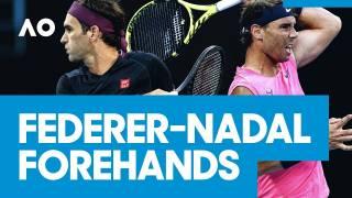 Nadal y Federer protagonistas de los mejores derechazos del Open Australia 2020