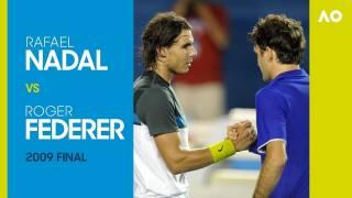 Revive completo el épico Nadal - Federer del Open Australia 2009