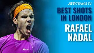 Los mejores puntos de Rafa Nadal en la Copa Masters de Londres