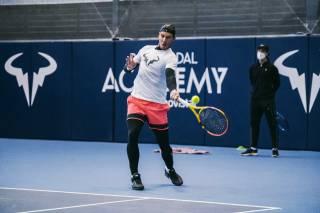 Exhibición de Nadal y Djokovic en Adelaida el 29 de enero