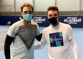 Rafa Nadal vs Roberto Bautista, ¿quién dijo entrenamiento?